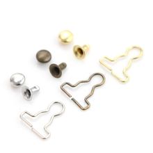20pcs/lot Mini 9mm Doll Clothes DIY Metal Buckle Fit For 1/6 BJD Blyth Pullip Blyth Girls Azone Doll Accessories ox horn button coat for azone momoko licca pullip blyth doll clothes accessories