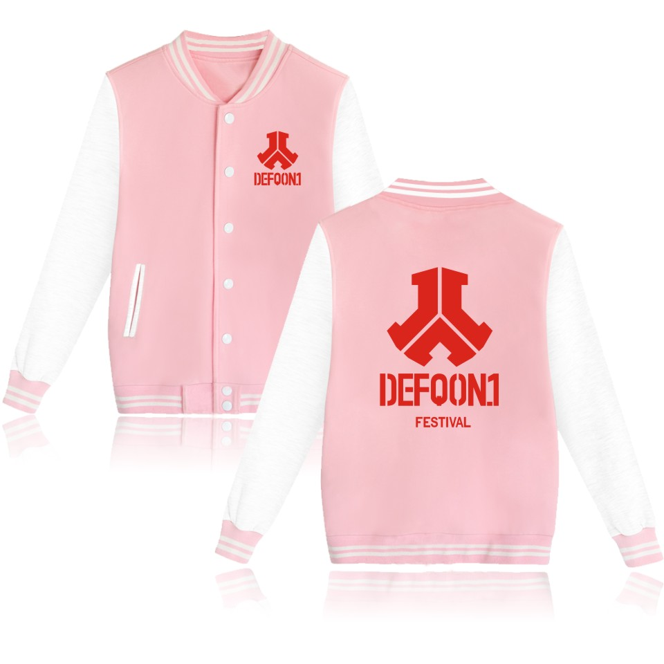 BTS Defqon 1 Baseball Jacket Hoodies Men Sweatshirt Casual Electronic Music Sweatshirt Men Hoodie Hip Hop Rock 4XL Jacket Clohes