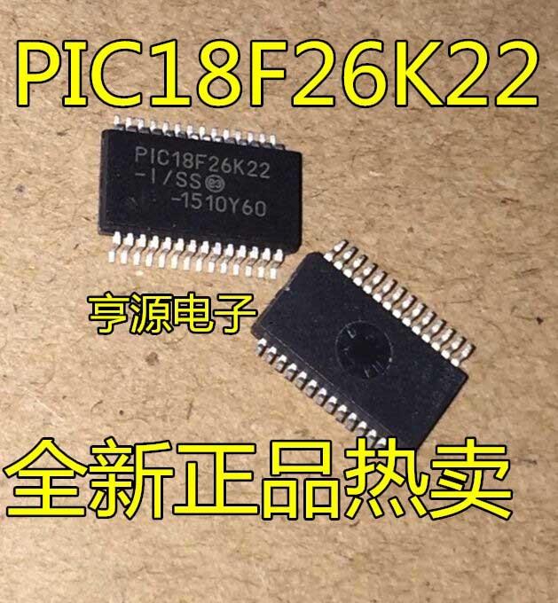 10 pz PIC18F26K22 PIC18F26K22-I/SS SSOP2810 pz PIC18F26K22 PIC18F26K22-I/SS SSOP28