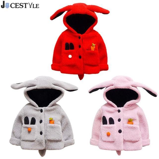 a9aa98d5add5 JOCESTYLE Children s Winter Warm Jackets Korean Baby Infant Girls ...