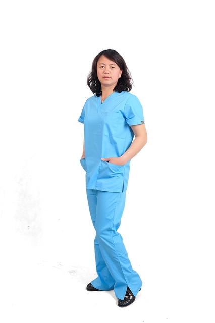 c96b0361f3d Nurse Uniform Surgical Clothes Medical Scrubs Sets Medical Gowns doctor 's  surgical clothing Hospital Uniform