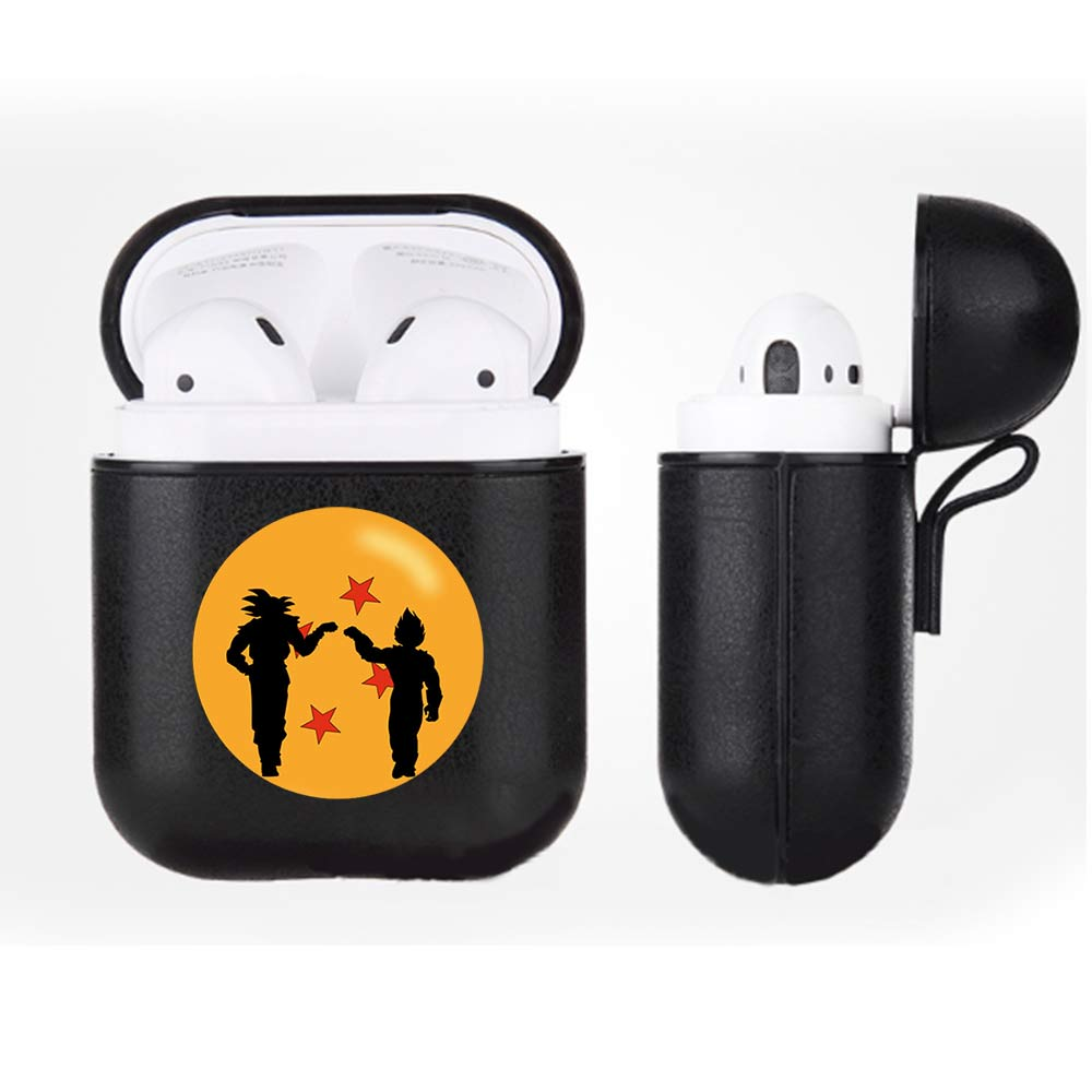 SingFly Dragon Ball Z PU Leather Airpods Case Bluetooth Headset Protective Cover for Apple AirPods Earphone CasesSingFly Dragon Ball Z PU Leather Airpods Case Bluetooth Headset Protective Cover for Apple AirPods Earphone Cases