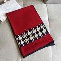 Patrón de pata de Gallo de invierno Las Mujeres de Cachemira Bufanda de Marca de Lujo Femme Viaje Chal Pashmina de Lana Caliente Nuevo [2324]