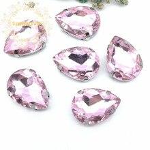¡Envío Gratis! Rosa de cristal de coser-en diamantes de imitación con garra de vestidos y Clothes13 * 18 10*14 7*10 18*25 20*30
