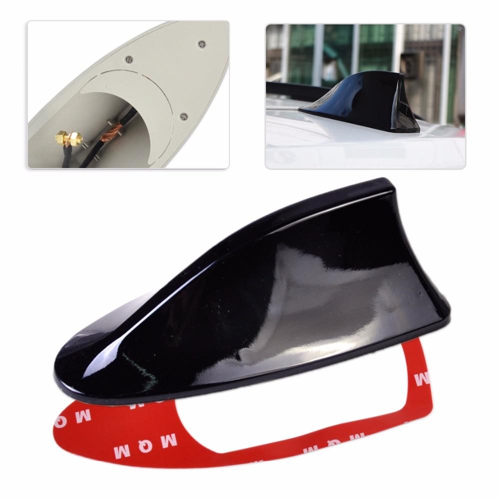 dwcx universal car decal black shark fin style roof. Black Bedroom Furniture Sets. Home Design Ideas