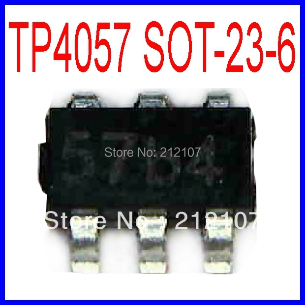 Tp4057 Lithium Battery Charging Ic 500ma Sot 23 6 Ic 7805 Ic Siliconics Remote Aliexpress