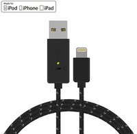 Meenova Smart Secure Fast Charge USB To Lightning Cable For IPhone 6s 6 IPad Air IPad