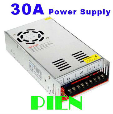 ФОТО LED strip 12V Power adapter 360W 30A Switching power supply driver transformador Input 110V 220V Free Shipping
