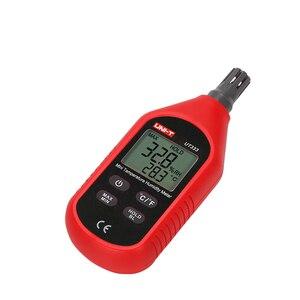 Image 4 - UNI T UT333 Mini Temperature Humidity Meter Indoor Outdoor Hygrometer Overload Indication Unit Conversion LCD Backlight hygromet