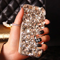 Lyball joyas de cristal de lujo hecho a mano bling rhinestone case cubierta para samsung s6 s7 s7 borde iphone 5 5s 5c 6 6 s plus 7 7 Plus
