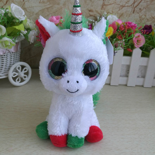 15cm Ty Beanie Boos Collection Big Eyes 6