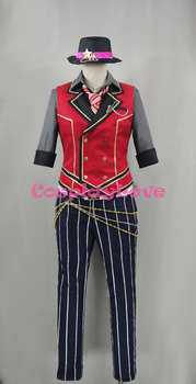 Ensemble Stars Sunlight's Childhood Friend Mao Isara Cosplay Costume Custom Made Halloween Christmas