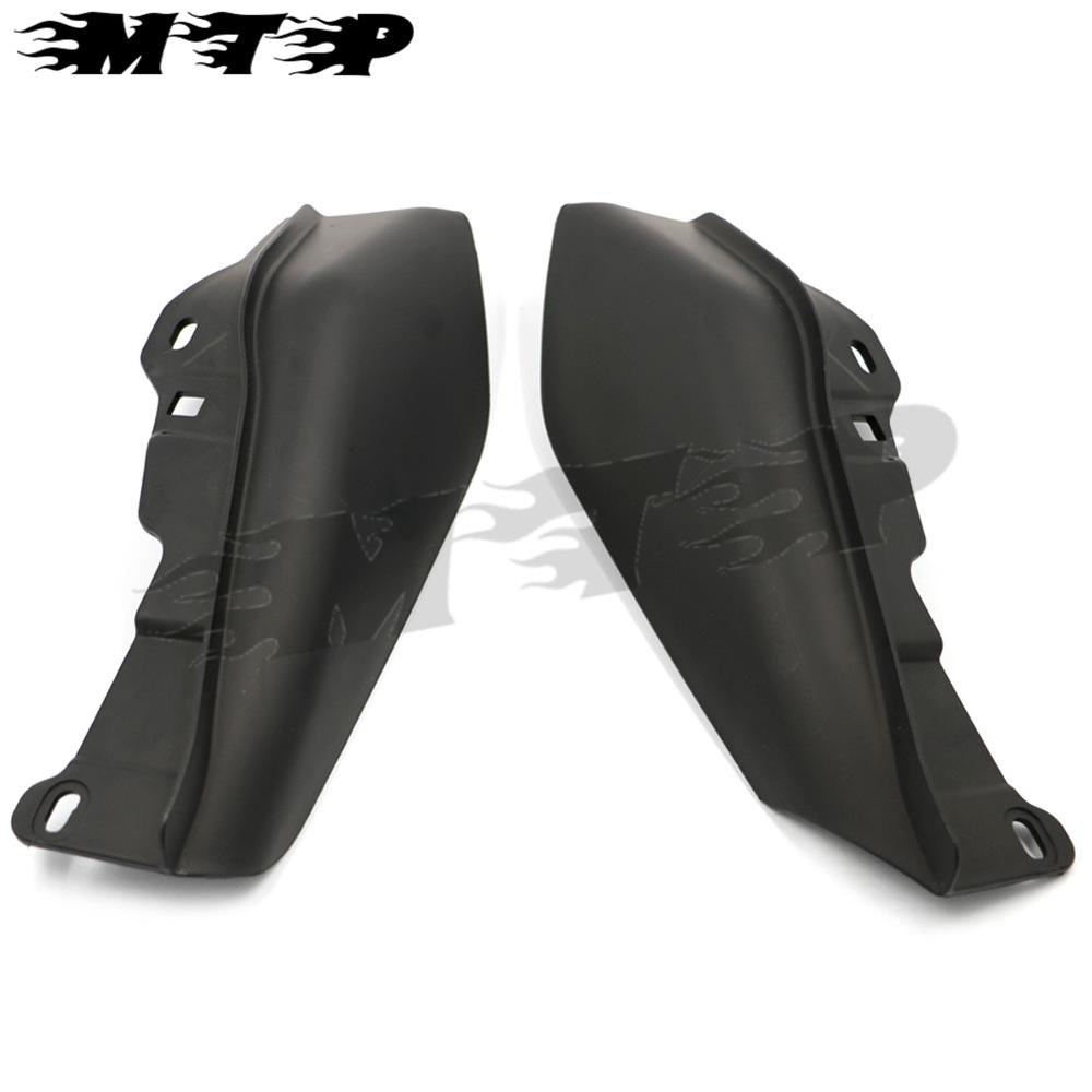 Black ABS Mid-Frame Air Deflectors FOR HARLEY ROAD King STREET TRI ELECTRA GLIDE ULTRA LIMITED FLHTK 2009-2015 Touring Classic brand new mid frame air deflector trims for harley cvo limited road king electra glide street electra tri glide flhx 2009 2016