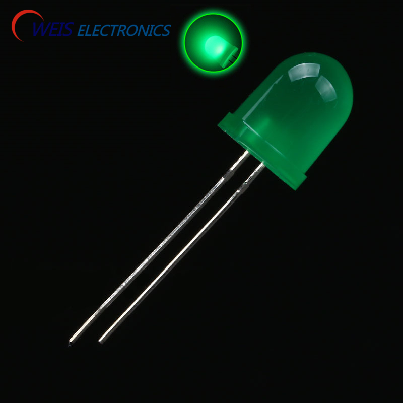 Lights & Lighting Hearty Oweis 10pcs/lot 10mm/f10 Led Green Turn Green Led Round Head Super Light Led Lamp Emitting Diodes Dropshipping Buy One Give One Lighting Accessories