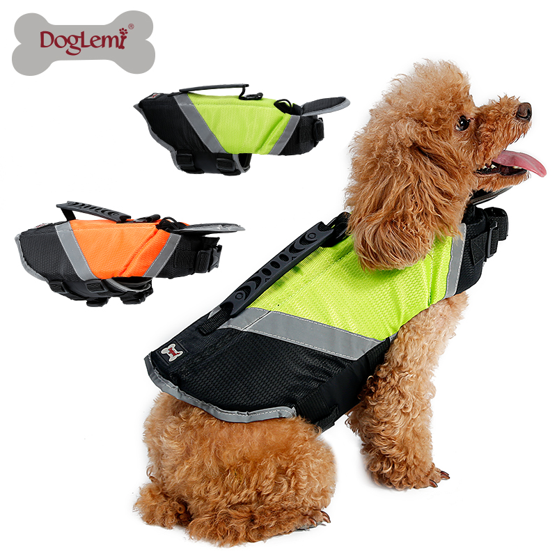 DogLemi Dog Life Jacket Vest pet life jacket vest with Extra Padding for Dogs Reflecting pet clothes s/m/l/xl size Dropshipping