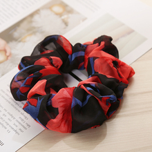 Stretchy Hair band Women Elastic Rope Ring Tie Scrunchie Ponytail Holder Band Headband