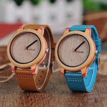 Reloj madera unisex colores + obsequio