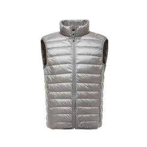 Image 4 - FGKKS mode marque hommes gilet veste gilet doudoune 2020 automne hiver mâle manteau couleur unie sans manches décontracté hommes gilet