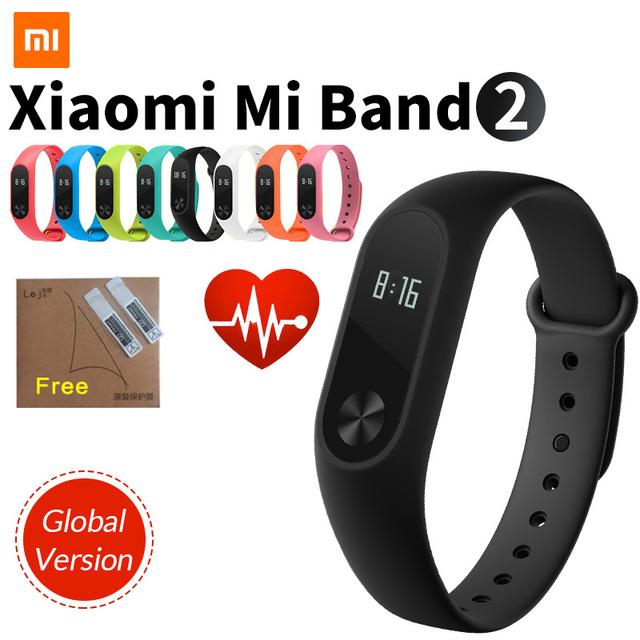 Original Xiaomi Mi Band 2 Smart Fitness Bracelet Watch Wristband