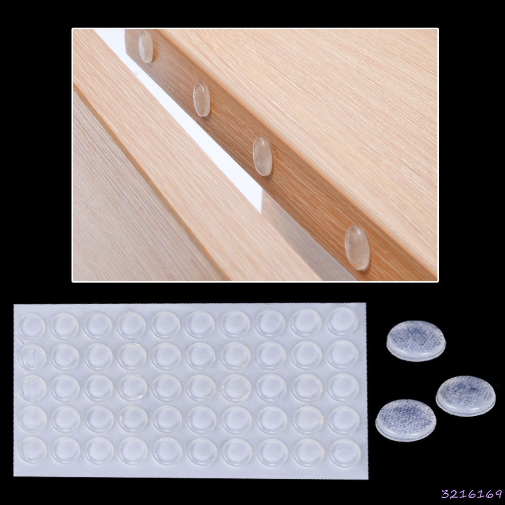 Silicone Buffer Pads Furniture Stopper Self-adhesive Damper Collision Cushion