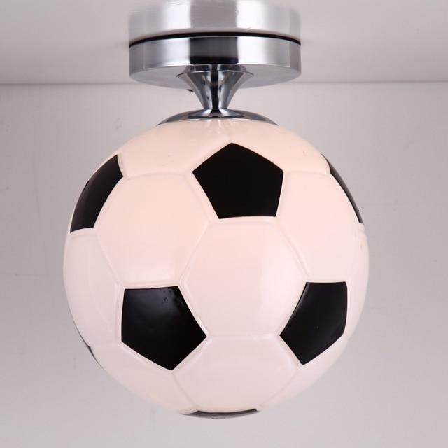 Basketball/Fußball Glas Kinderzimmer Lampen Pendelleuchten Für Esszimmer  Moderne Pendentes E Lüster Anhänger Lampe Leuchte