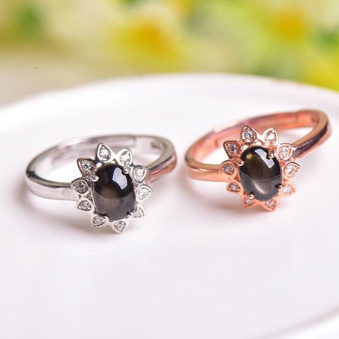 KJJEAXCMY boutique bijoux 925 collier de perles avec collier en saphir naturel, trois ensembles de bijoux de mariée, bijoux et bijoux. - 4
