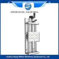 wholesale Linear Rail slide module 1605 ball screw SBR sliding table with sliding base