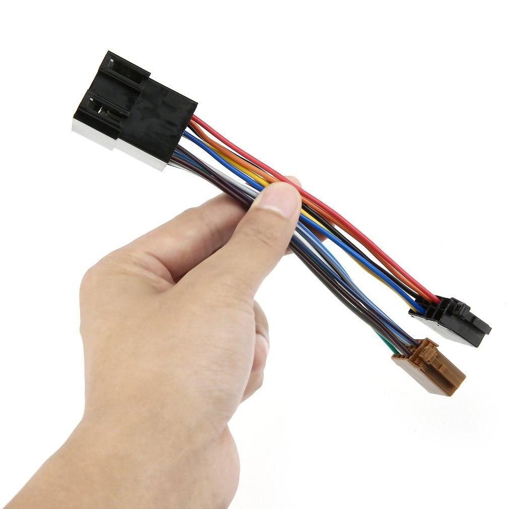 Auto Stereo Audio Harnas Met Iso Adapter Duurzaam Automobiel Radio Kabelboom Voor Peugeot 106 206 306 307 405 406 607 Hot