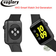 IWO 3 Smartwatch IWO 2 Upgrade Smart watch MTK2502C Bluetooth for Apple IOS Android Support Heart Rate Monitor WhatsApp facebook