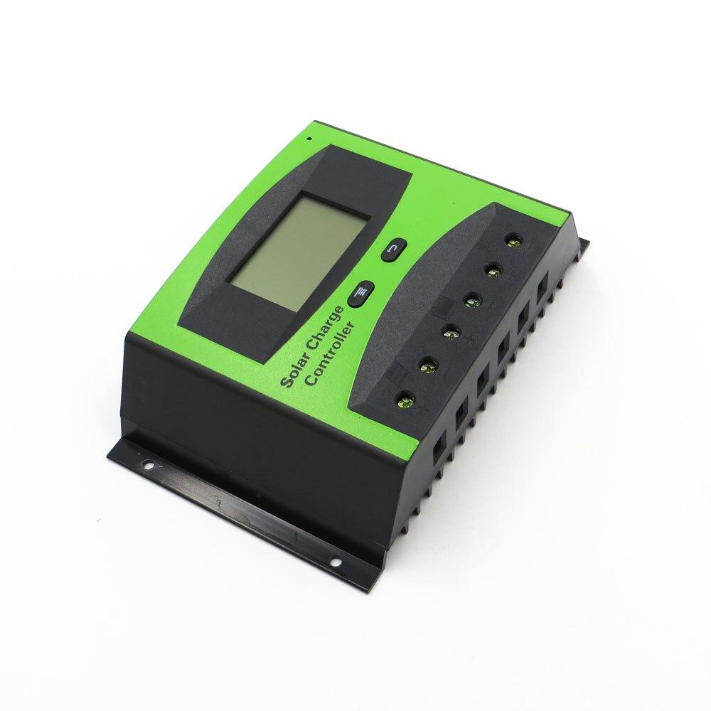 40A 50A 60A 12 V 24 V LD2440C LD2450C LD2460C PWM panneau de cellules solaires régulateur de Charge de batterie régulateurs affichage LCD