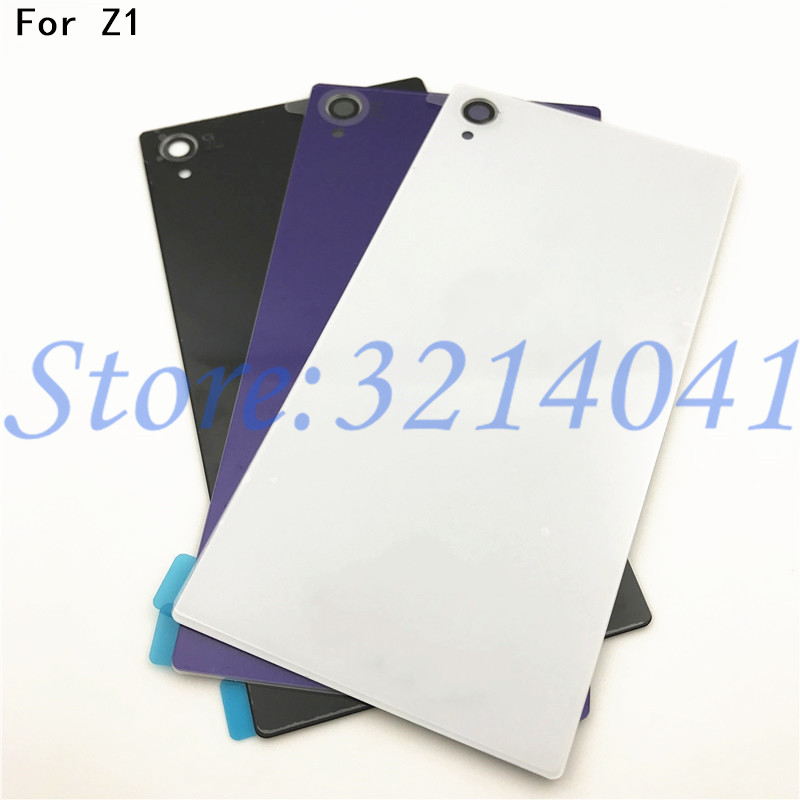 Good Quality 5.0 Inches Rear Z1 Battery Back Cover For Sony Xperia Z1 L39H C6902 C6903 Battery Door Back Case With NFC