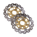 Arashi Front Brake Disc Rotors Set For Honda CBR250RR MC22 1990-1999 & NSR250R (MC18/MC21/MC28) 1988-1998 Gold