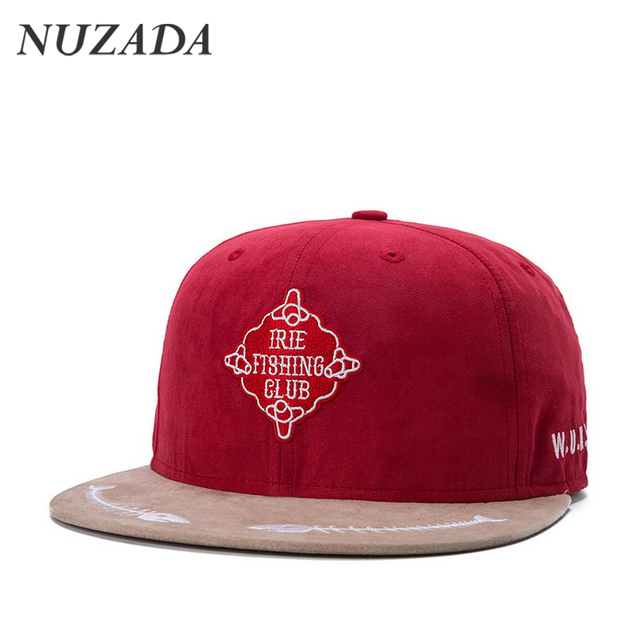 Brands NUZADA Men Women Baseball Caps Sports Hip Hop Hats Snapback Bone Baseball Cap Solid wood cotton material fashion jt-143