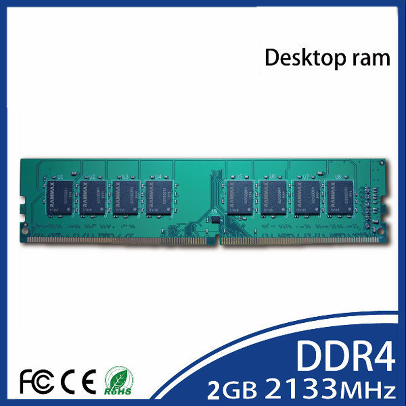 Desktop Memory DDR4 Ram 4GB 8GB LO-DIMM 2133Mhz PC4-17000 288-pin/ CL15 Unbuffered Non-Ecc work with motherboard of PC Computer