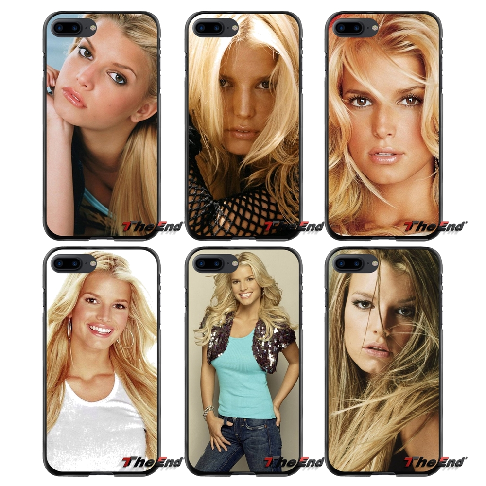 For Apple iPhone 4 4S 5 5S 5C SE 6 6S 7 8 Plus X iPod Touch 4 5 6 Accessories Phone Shell Covers Music Jessica simpson