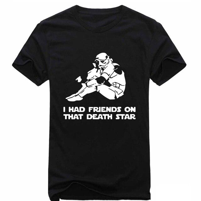 fashion men s t shirt i had friends on that death star wars geek