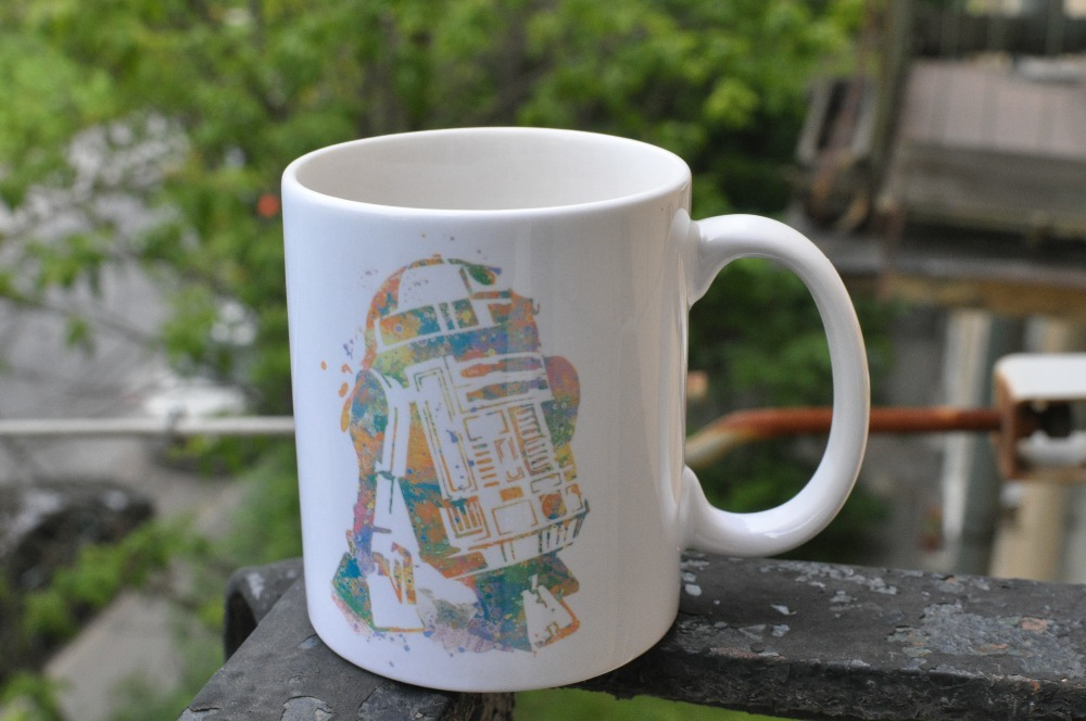 Star Wars Mug R2D2 coffee mugs travel mugs make your own cups ceramic mug home decal