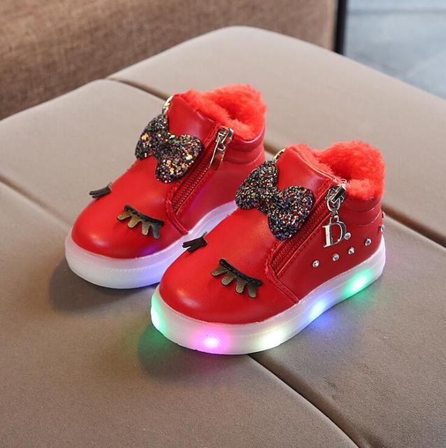 Winter LED Schoentjes 4