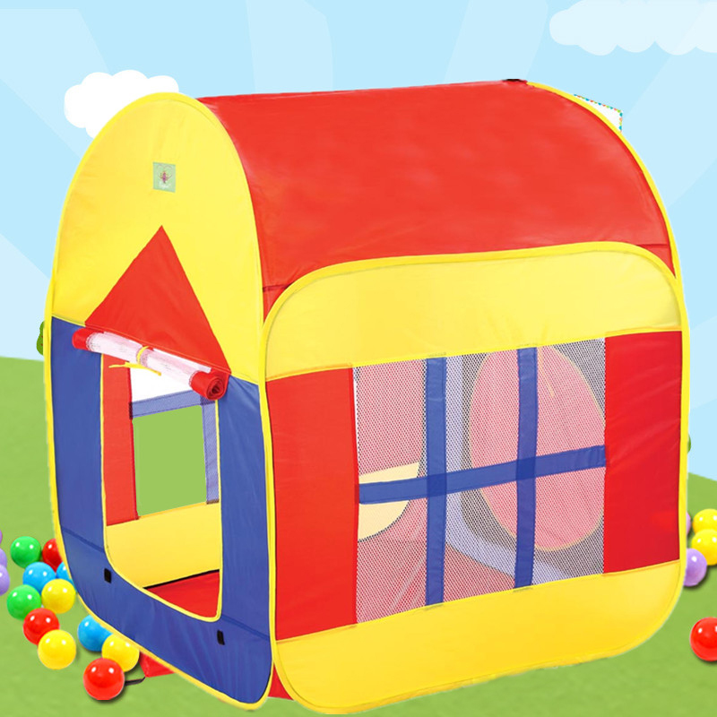Promotion child toy tent kids game house baby play tent,Child Gift child gift cute quality kids play tent play game house indoor outdoor toy tent children baby beach tent kids present