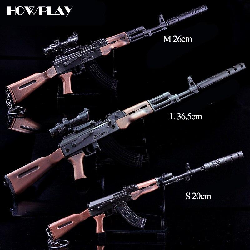 Collectibles PUBG M24 Silencer Battlegrounds Gun Model Key Ring