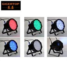 TIPTOP 240 x F10 Flat Led Par Light RGBW 4IN1 Color black housing with 10mm high MCD LEDs, red/green/blue/white DMX 9 Channels