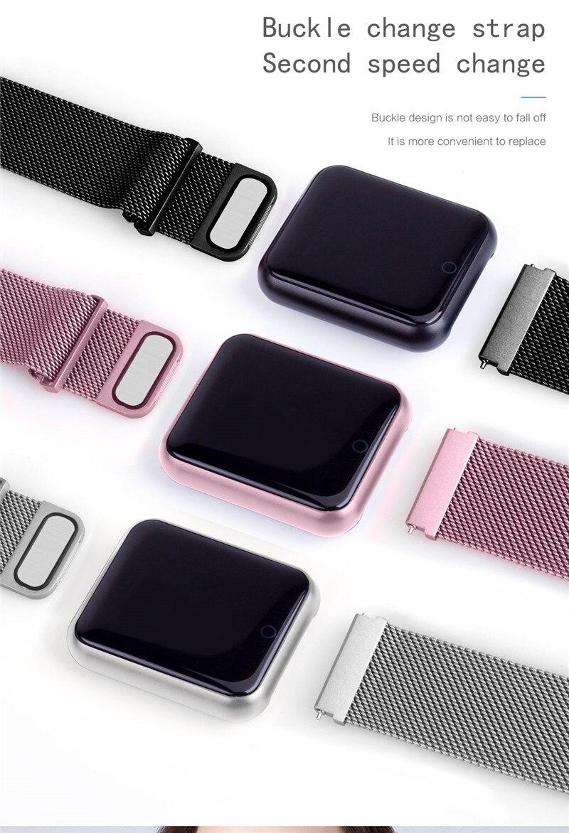 P68+earphone/set IP68 waterproof Smart Bracelet Wristband Heart Rate Monitor Fitness Tracker Watch Electronic Intelligent Clock 4
