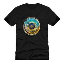 New T Shirts Funny Tops Tee Unisex Topsfollow me iris space ufo eye old retro vintage dtg mens t shirt tees