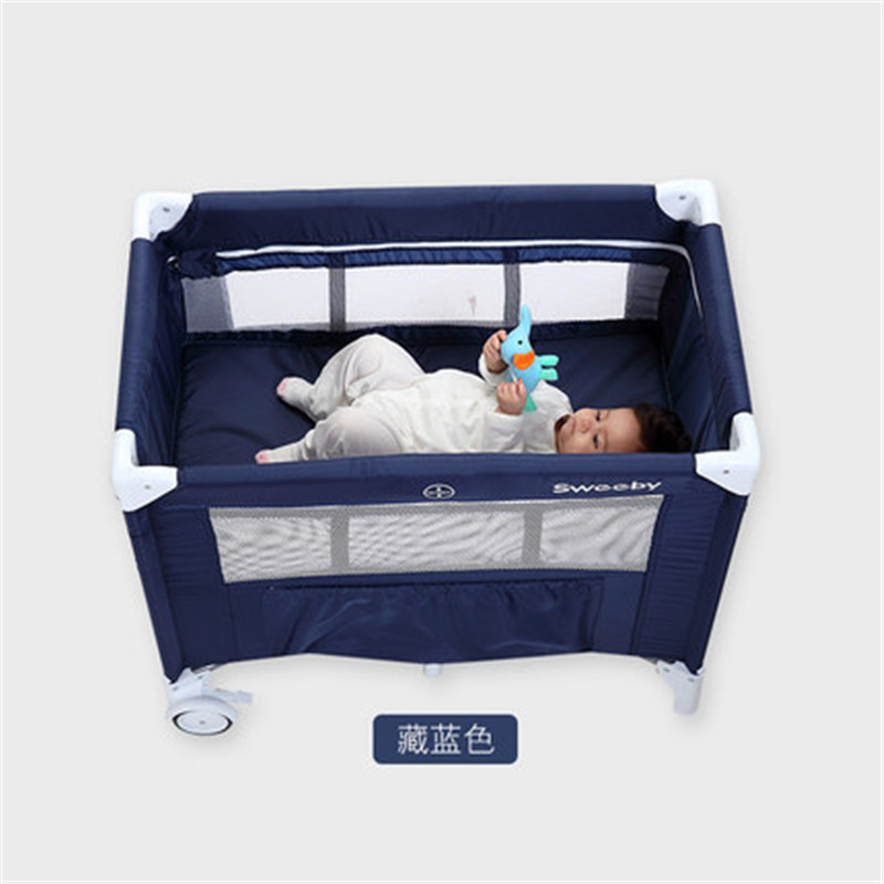 Sweeby Multifunctional Folding Baby Crib Infant 0-1years Old Baby Bed Portable Baby Game Bed Travelling Crib