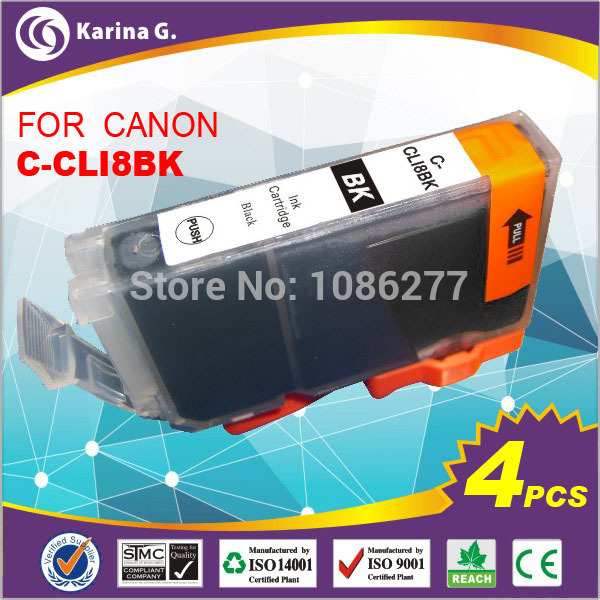 US $9 8 |4X Printer ink For Canon CLI 8BK For PIXMA MP950 MP610 MP600 black  only-in Ink Cartridges from Computer & Office on Aliexpress com | Alibaba