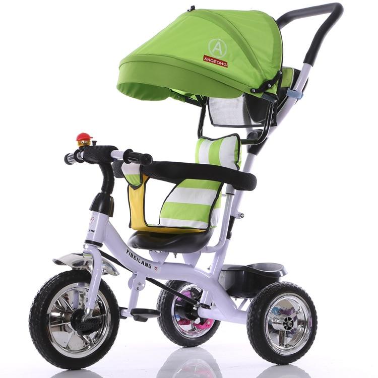 2017 nueva llegada buen precio paseo en bicicleta también triciclo carrito de bicicleta cochecito de bebé niños 1-3-5 bicicleta para niños de años - 2