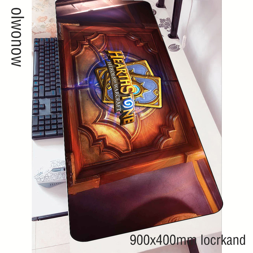 Hearthstones Mouse Pad Gamer Wrist Rest 90x40cm Notbook Mouse Mat Gaming Mousepad New Arrival Pad Mouse PC Desk Padmouse Mats