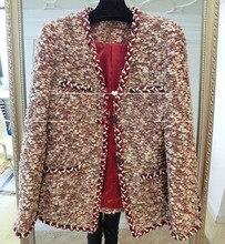 Fashion winter jacket girls,elegant tweed jacket,distinctive abrigos mujer, plus measurement 6xl,girls primary coats,superb winter coat