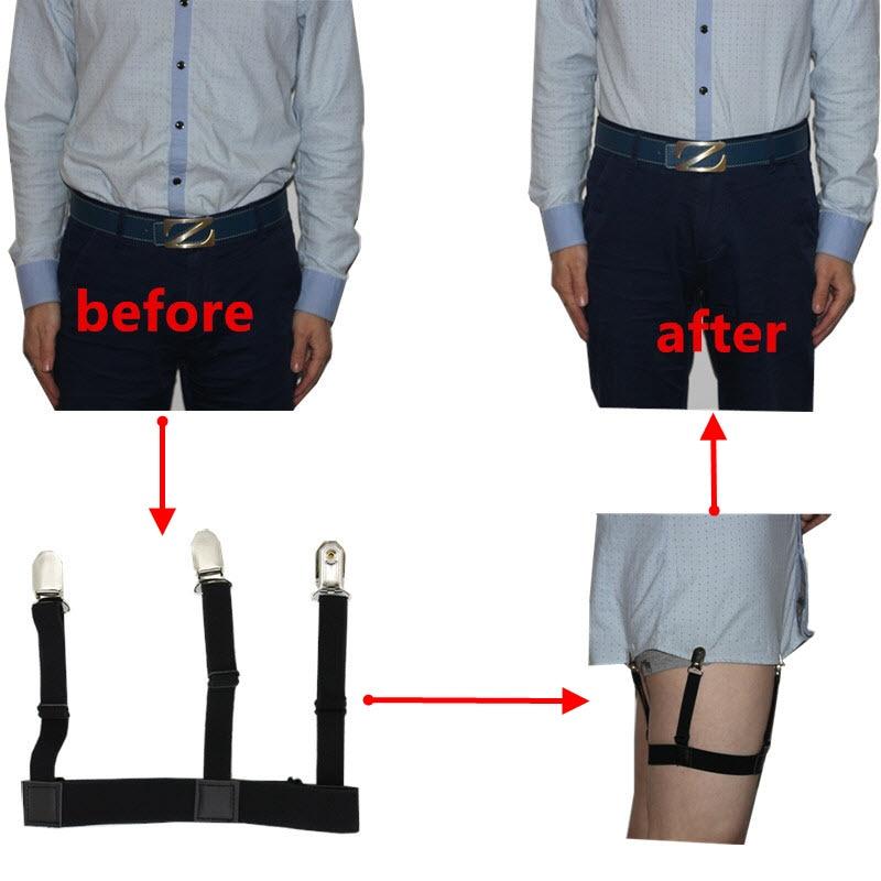 3e1525c474 Mens Braces camisa ligas Caballero pierna muslo Liga elástico cinturón  tirantes camisa Styas en Hombres de Accesorios de ropa en AliExpress.com