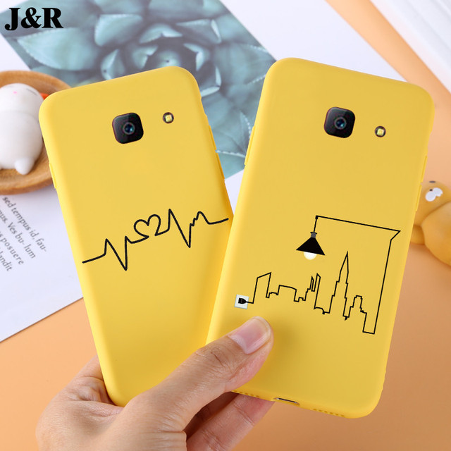 promo code a0800 36537 US $1.34 8% OFF|Soft Cases For Samsung Galaxy J4 Plus Case Cover Cute  Yellow Phone Back Covers Fundas For Samsung J4 Plus J4+ SM J410F Shell-in  Fitted ...